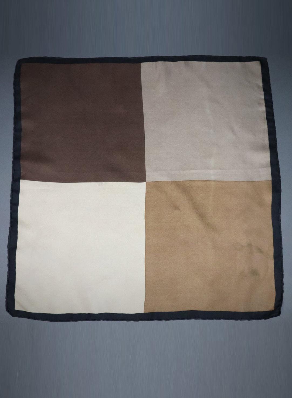 Vintage 60s 70s Mod Silk Square Scarf copy