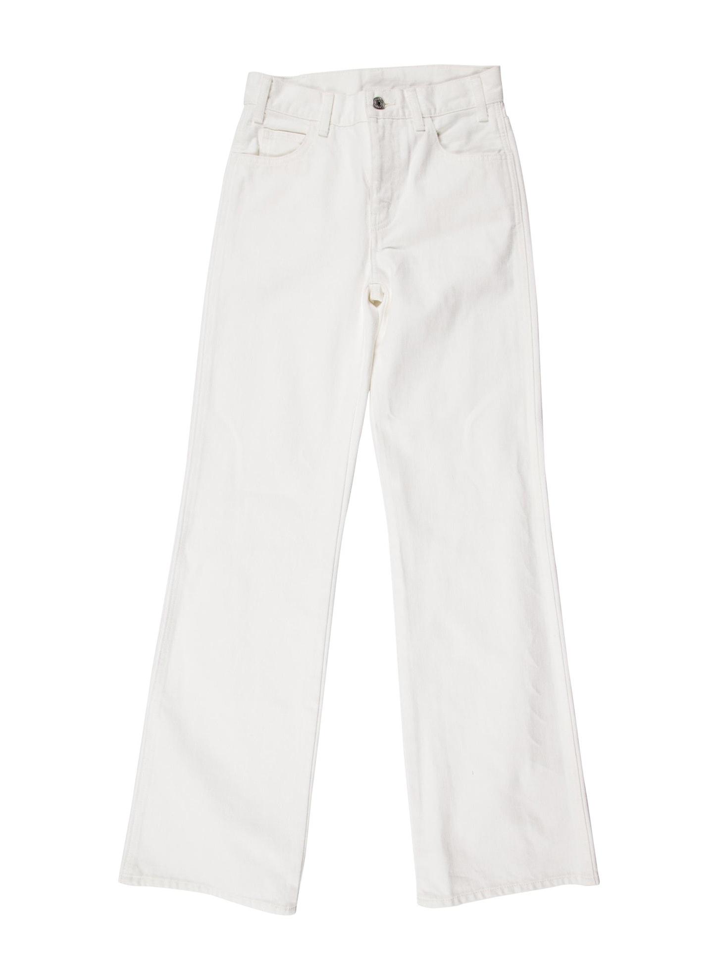 CELINE Mid-Rise Wide Leg Jeans w: Tags