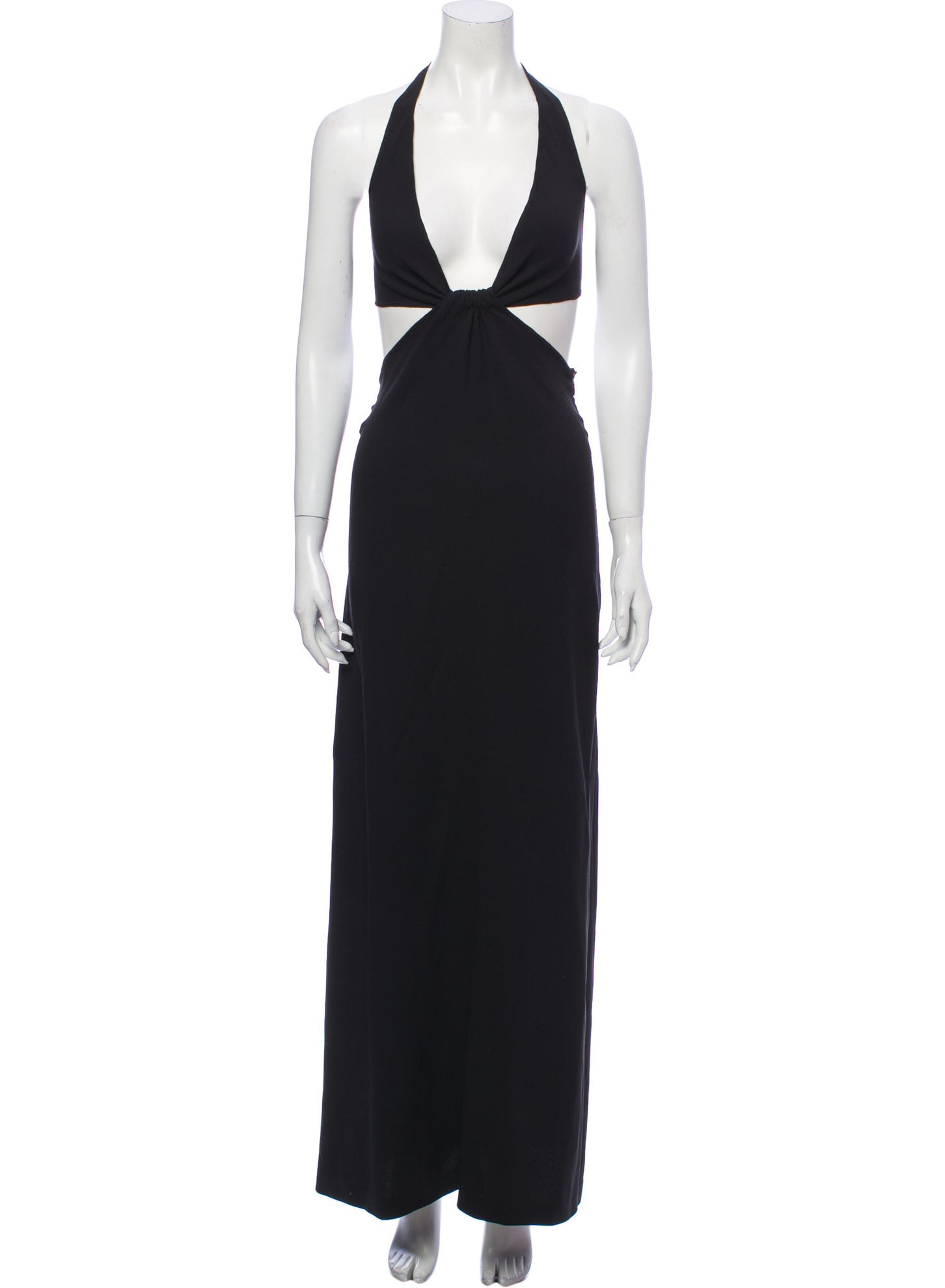 CELINE Silk Long Dress
