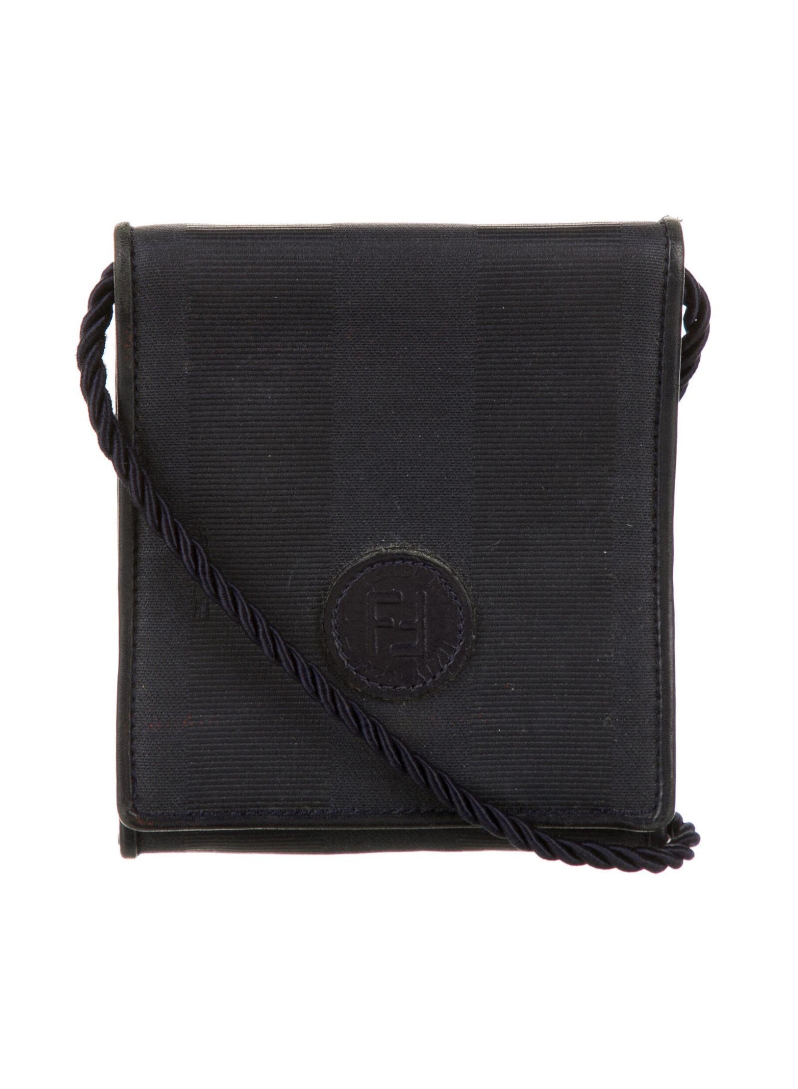 FENDI Vintage Zucca Mini Crossbody Bag