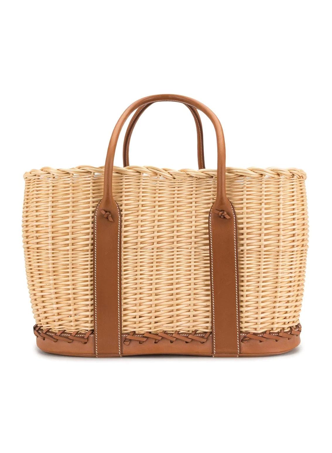 Hermès Rattan Bag