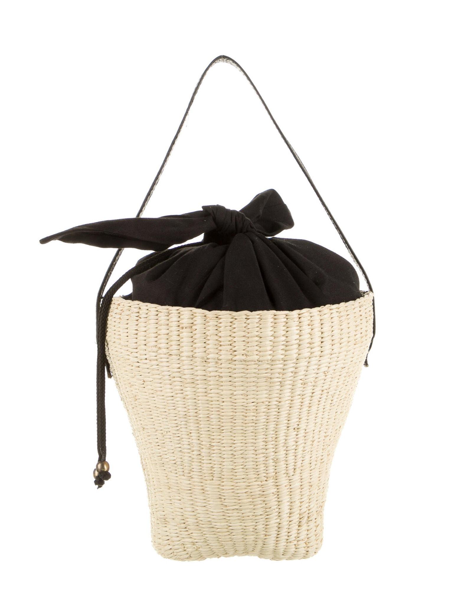 SENSI STUDIO Straw Tote Bag