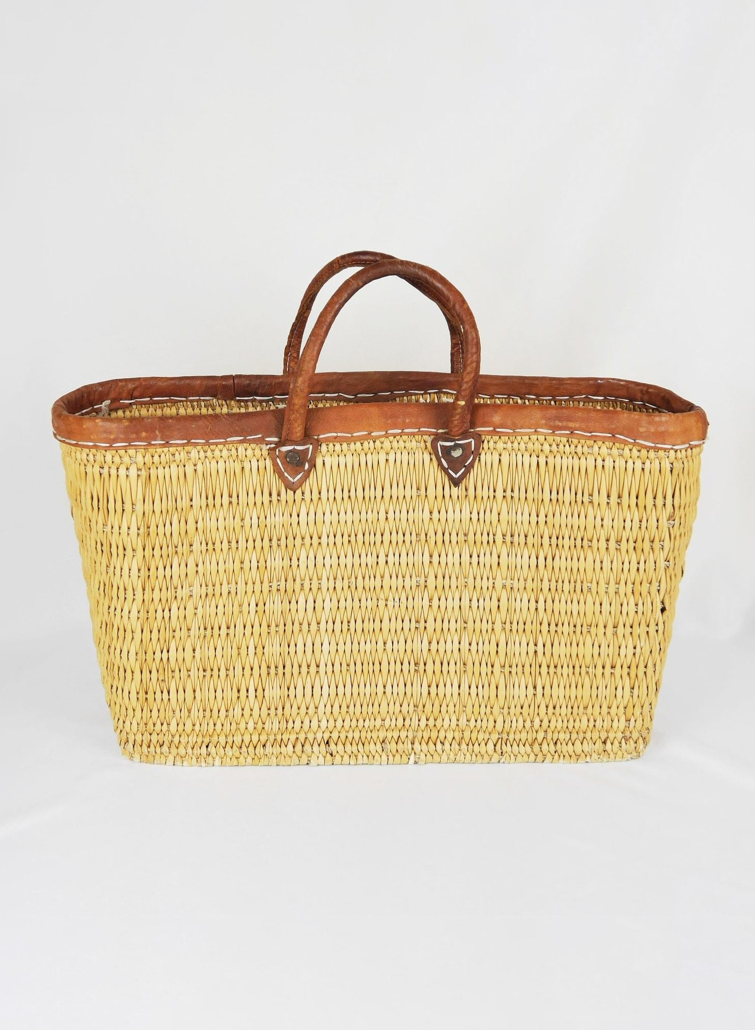 Vintage French Market Basket