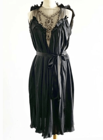ALBER ELBAZ MIRACLE FIND! KATE MOSS ICONIC_ LANVIN _ ETE 2003 CRYSTAL DRESS (40)
