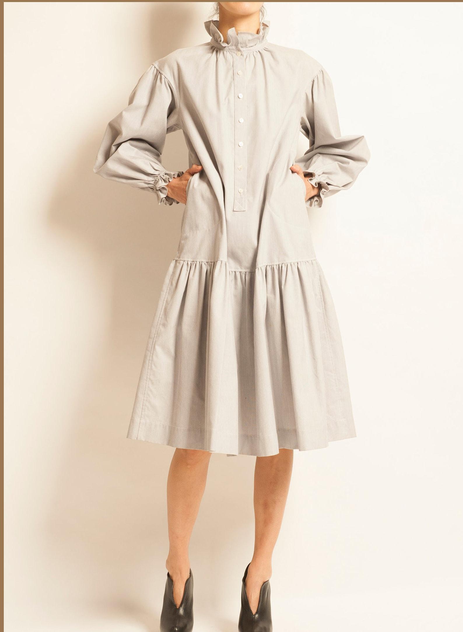 Day dress Yves Saint Laurent from 1977