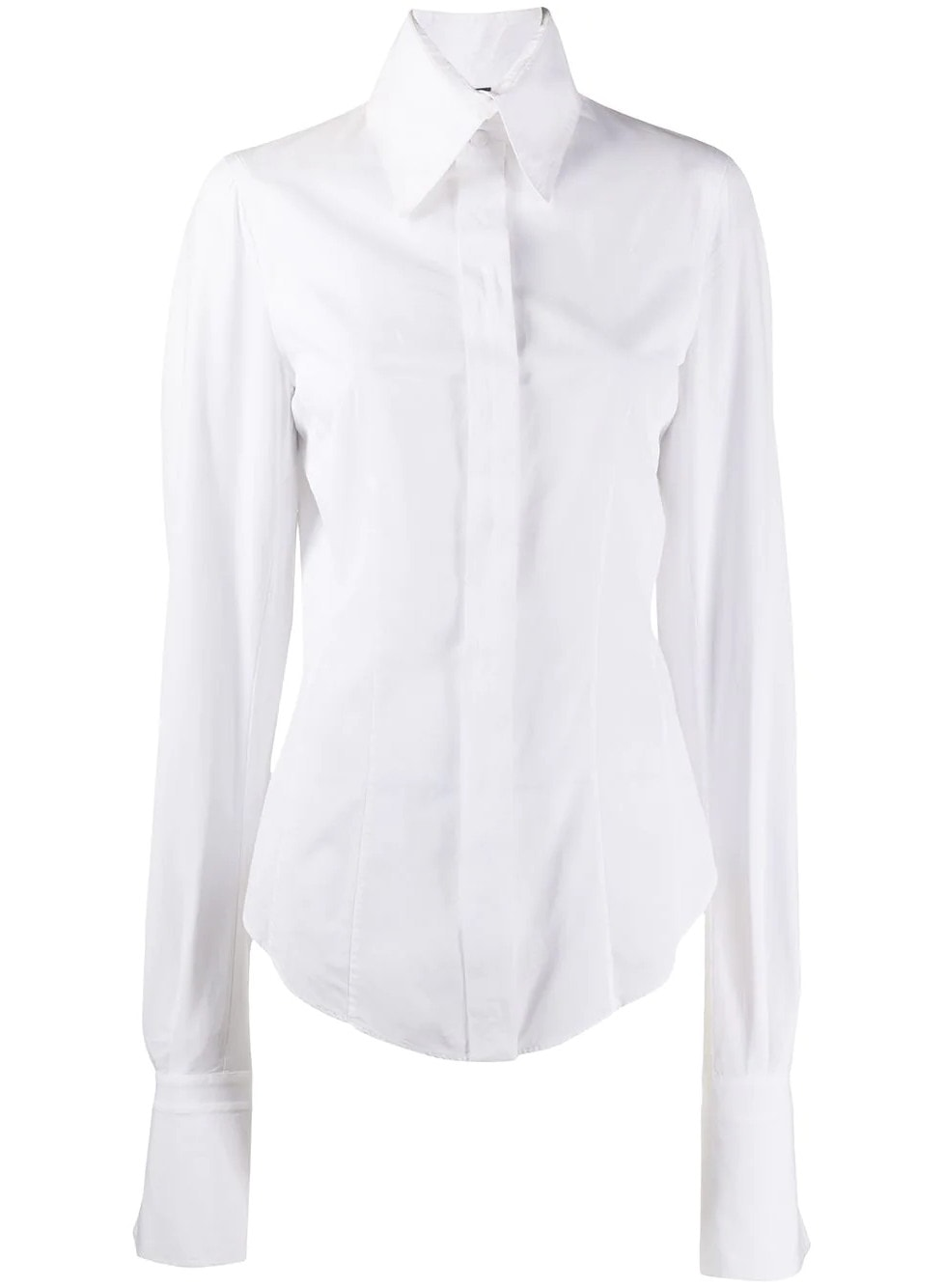 Gianfranco Ferré Pre-Owned 1990s Concealed Fastening Shirt - Farfetch