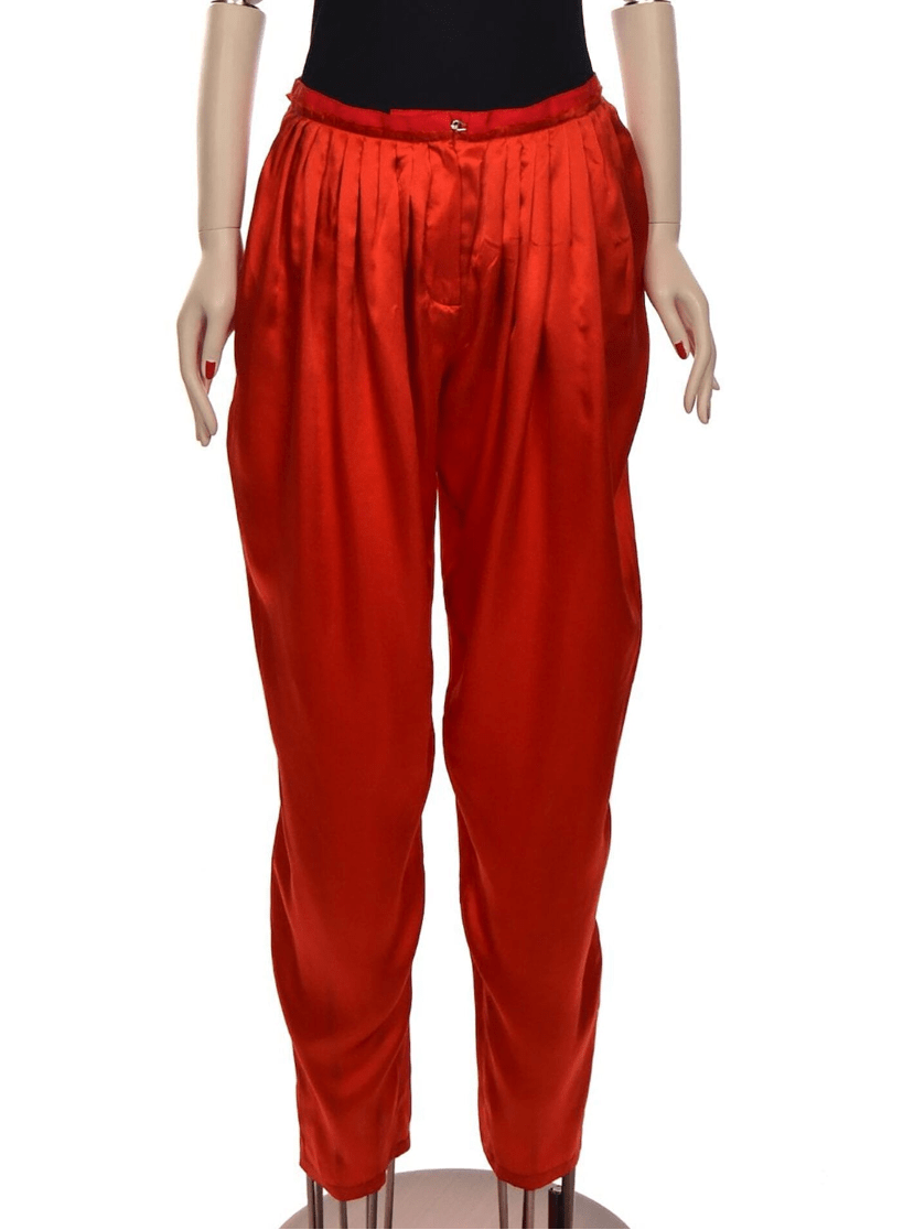 LANVIN Tapered-leg hight-waist trousers Resort 2009 - Shop the Story