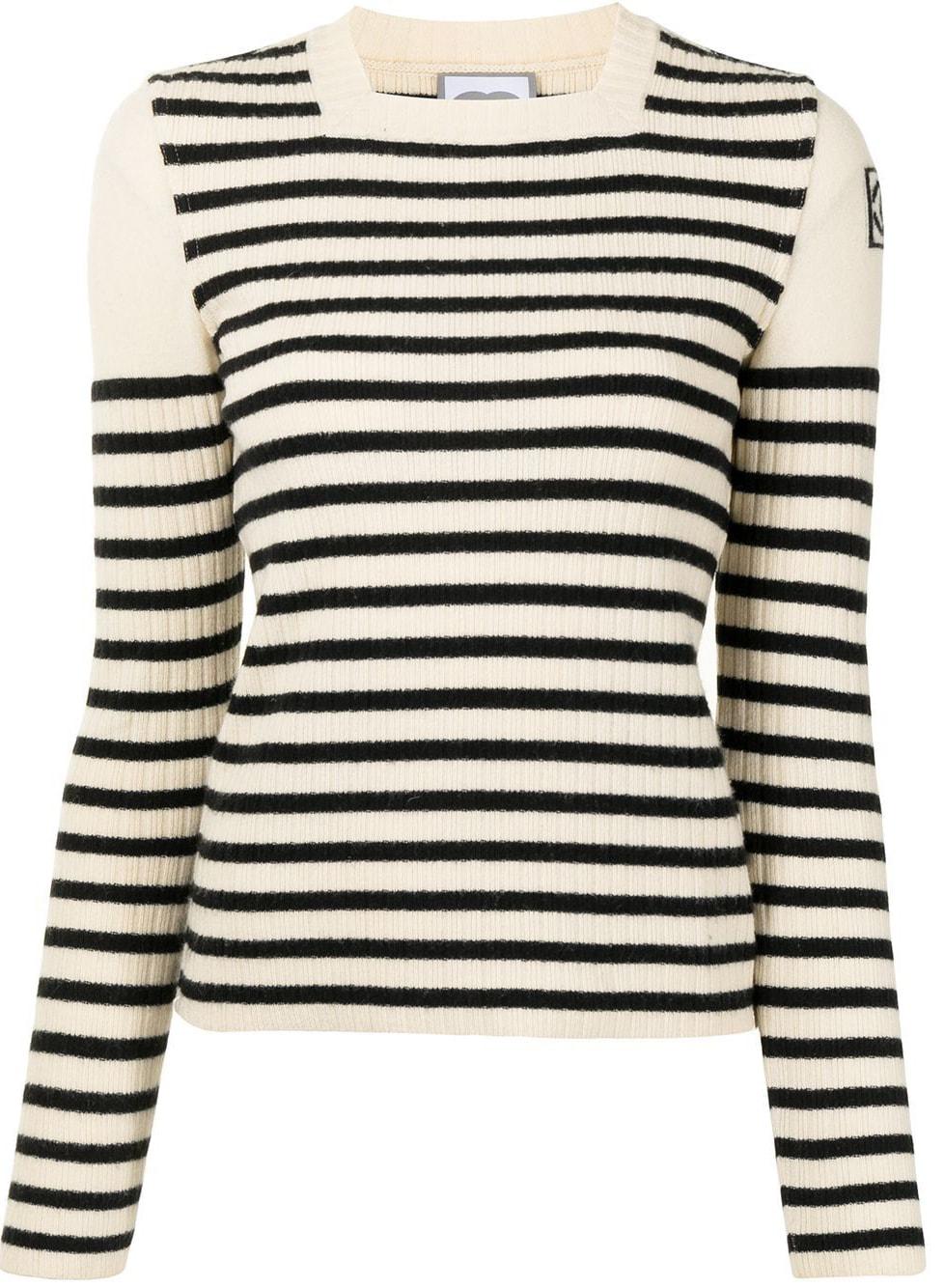 Chanel Pre-Owned 2006 horizontal-stripe Jumper - Farfetch