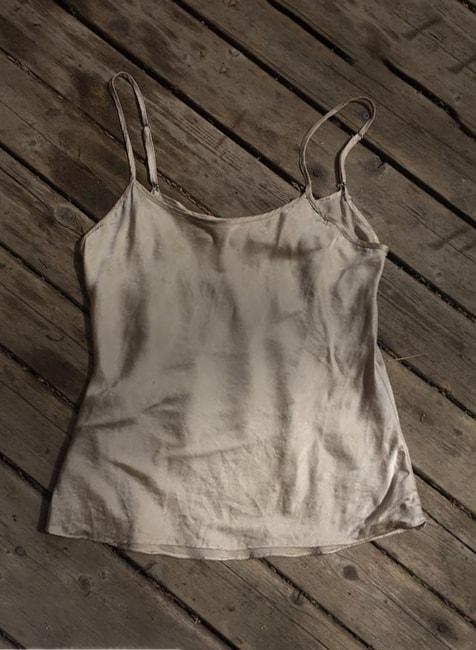 100 silk camisole beige minimalist minimal real pure silk neutral