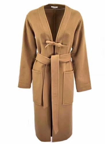Cashmere coat Celine Camel size 34 FR in Cashmere - 12693859
