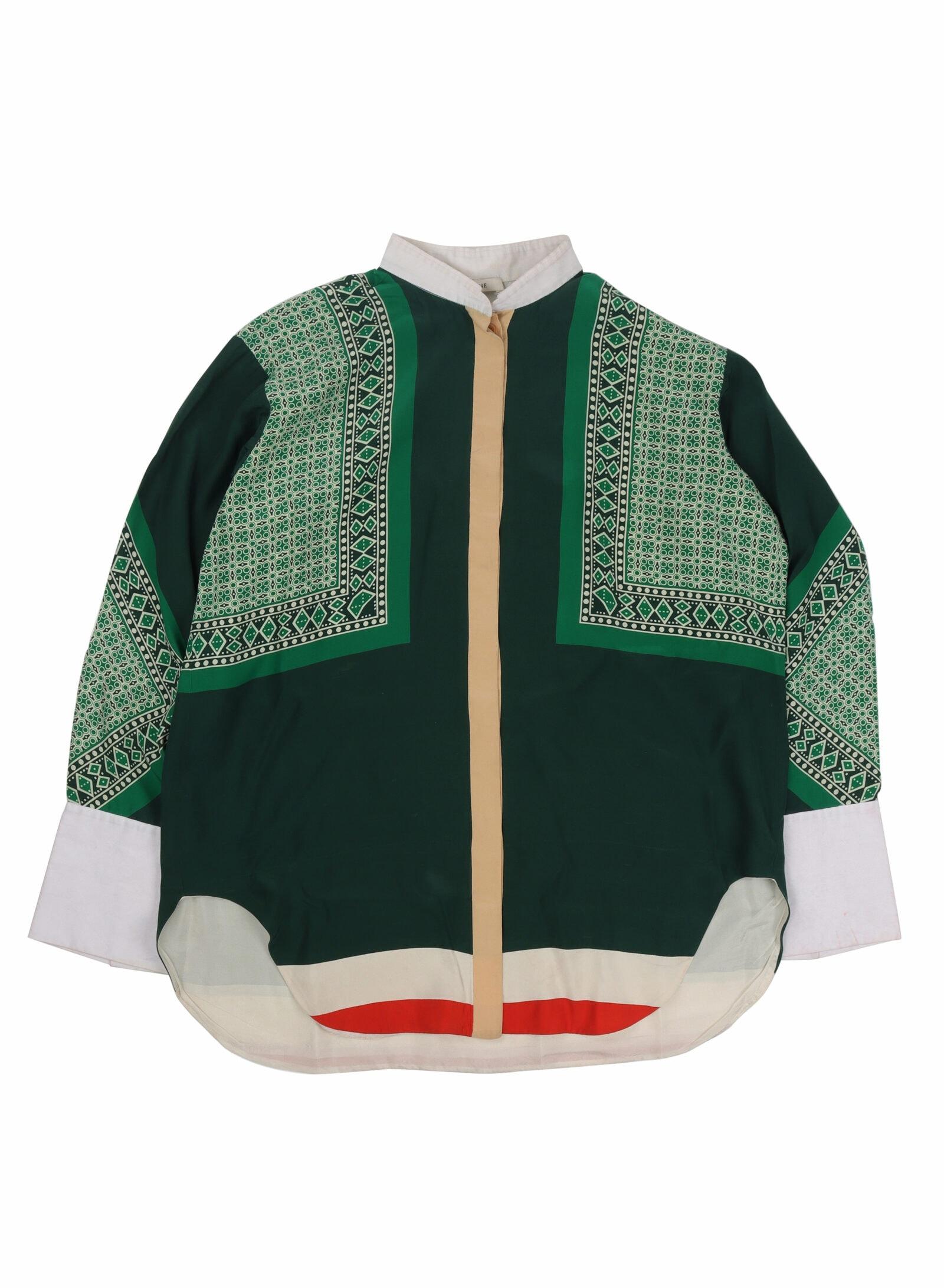 Celine Phoebe Philo S:S 2011 Silk Shirt copy
