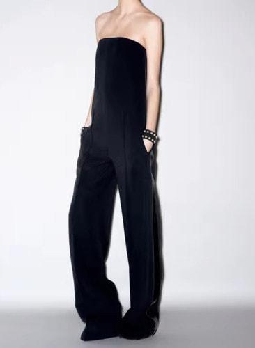Jumpsuit Celine Black size 36 FR in Viscose - 16389118