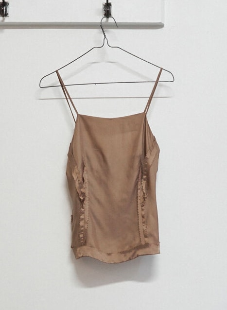 MAISON MARTIN MARGIELA brown inside out pinked