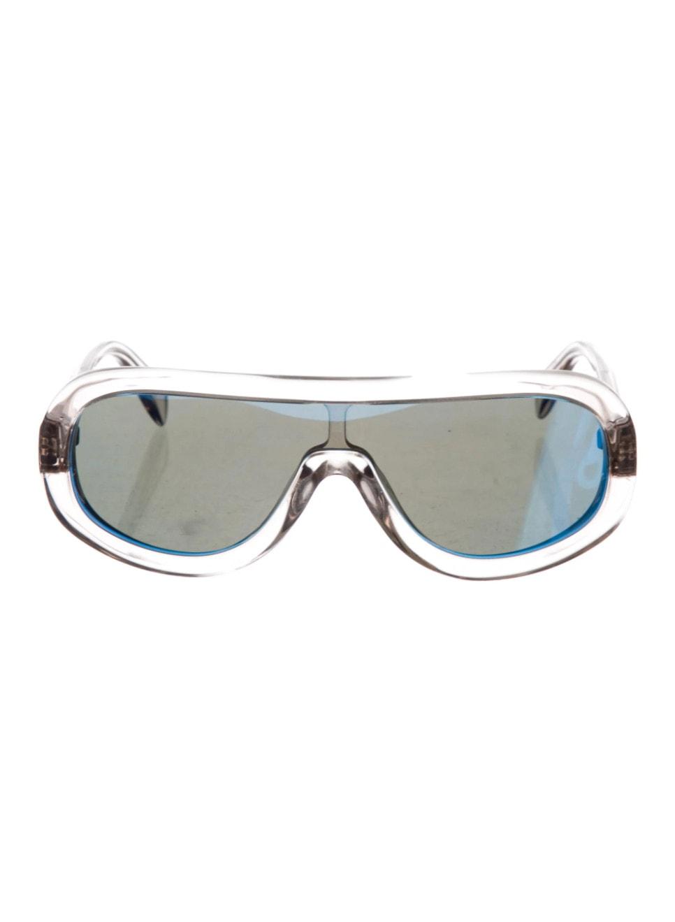 Shield Mirrored Sunglasses