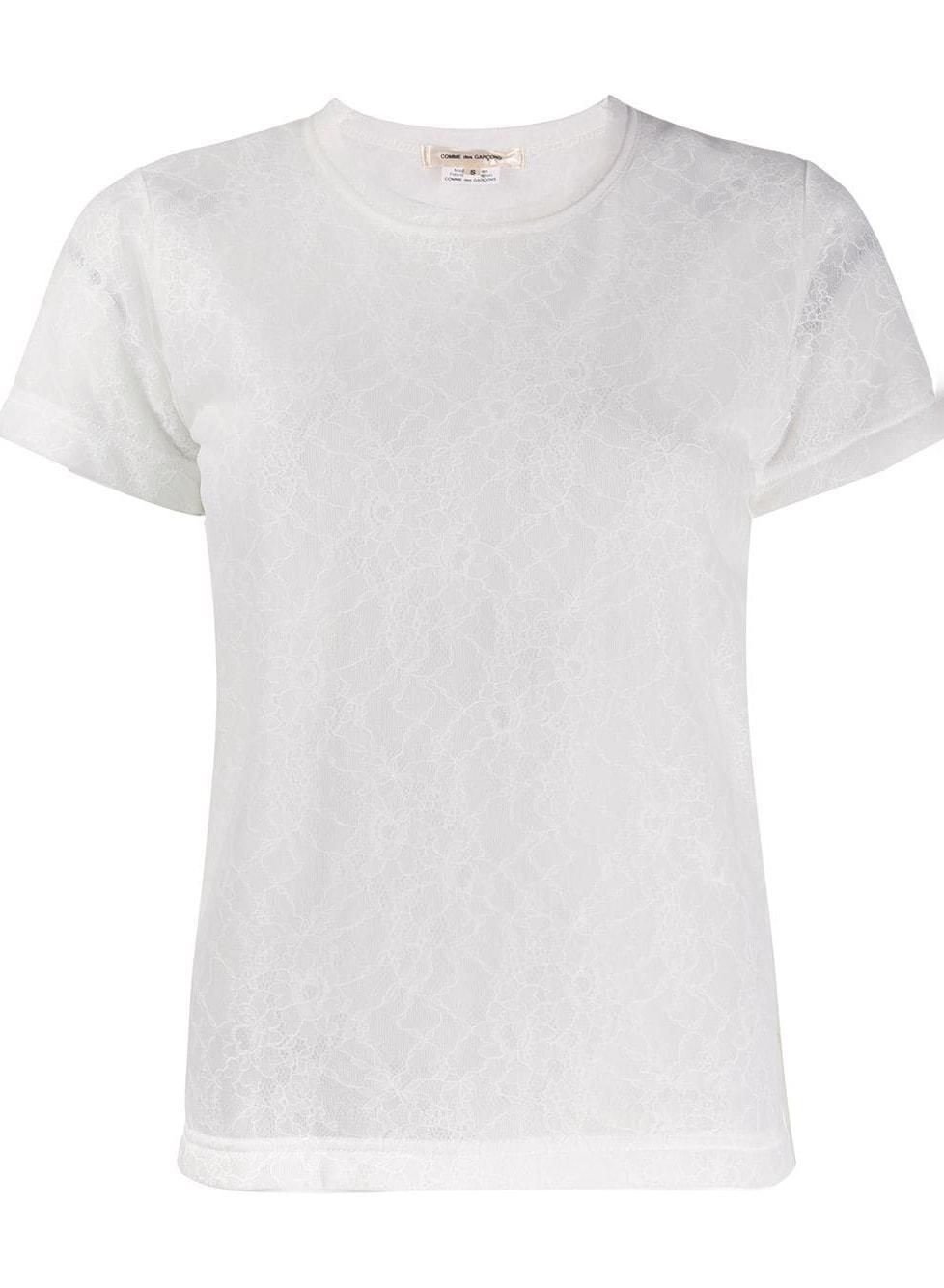 Comme Des Garçons Pre-Owned '2000s patterned T-shirt