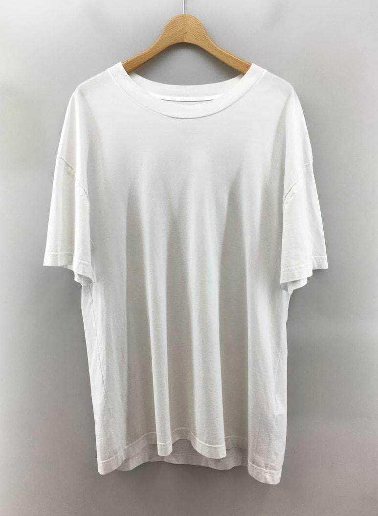 Secondhand Maison Margiela S50Gc0600 T Shirt 48 Cotton Wht Plain Oversized Top