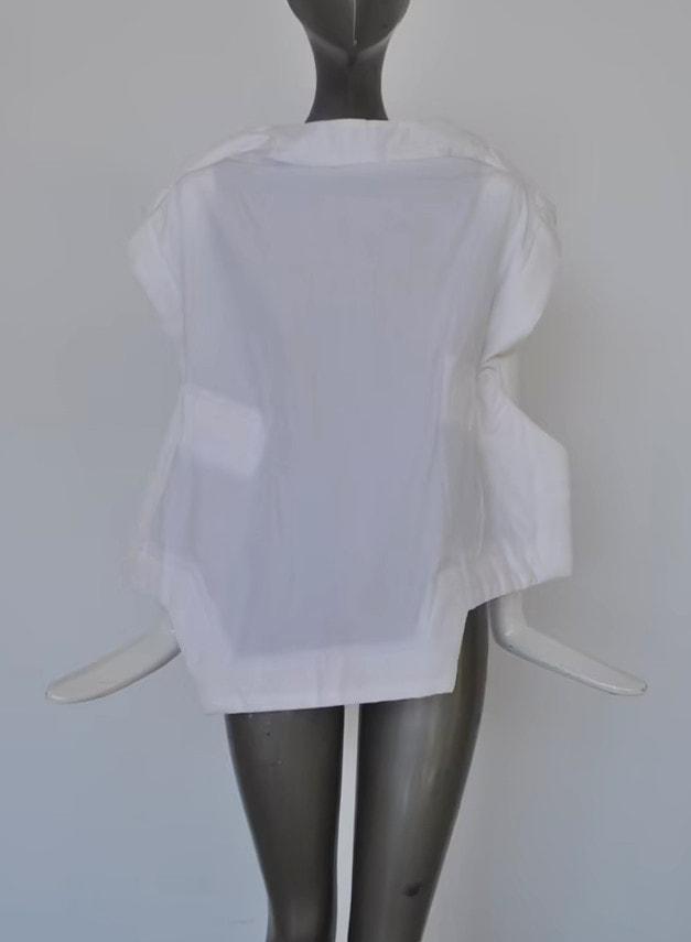 Comme des Garçons blouse 90s_ Avantgarde