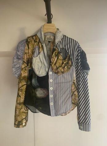 Vivienne Westwood Cocoon Shirt Paradise Print Size 40_8
