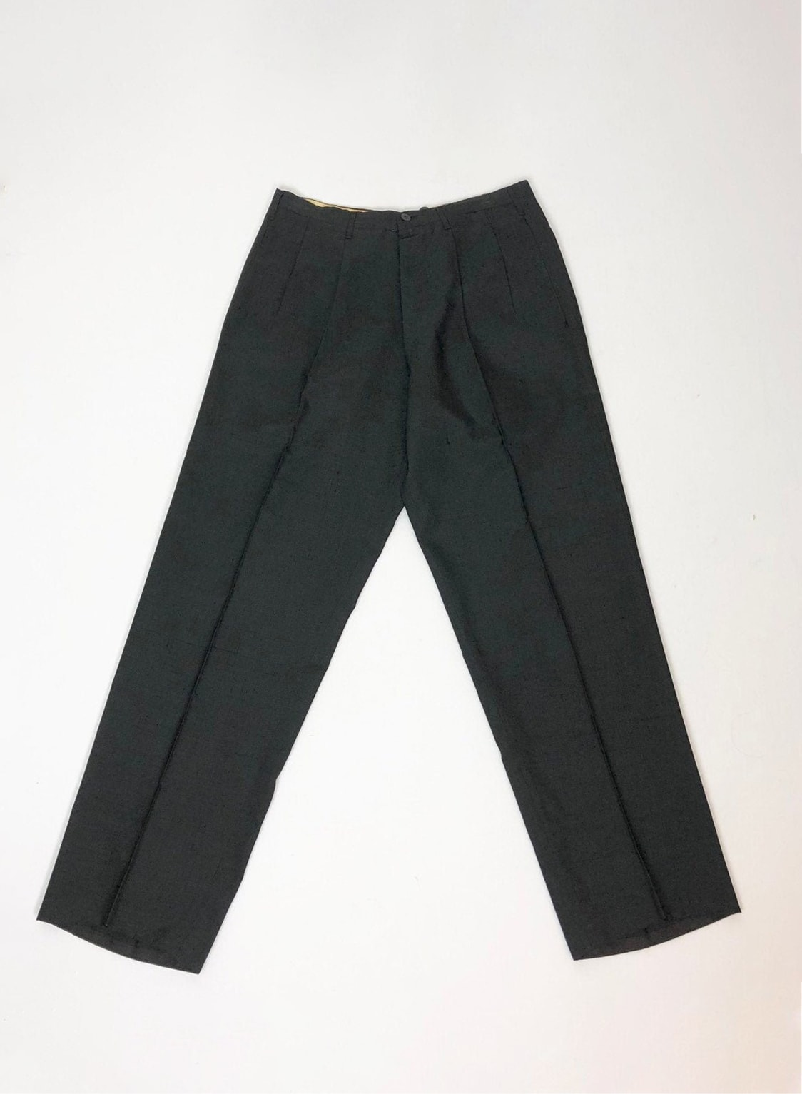 1910 1920s Silk Trousers 31 Waist
