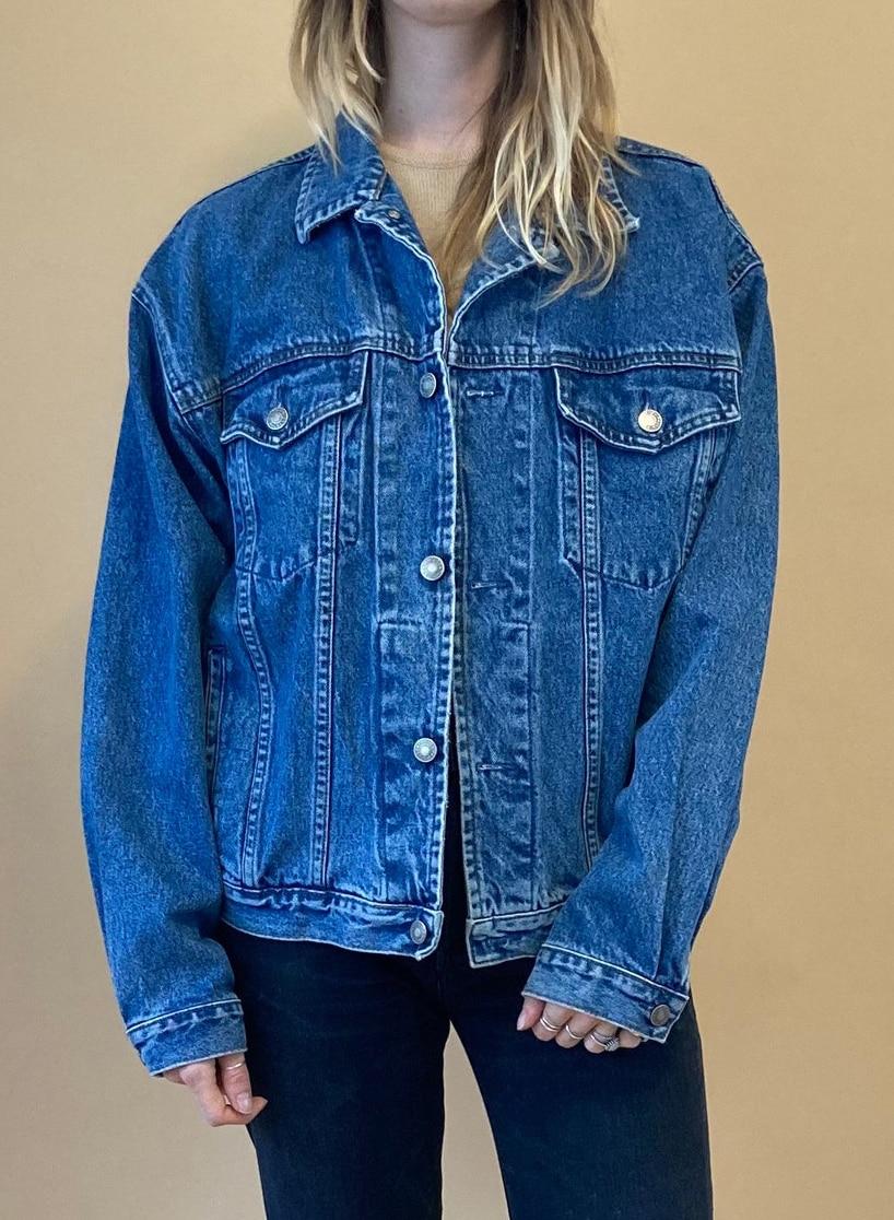 90s Gap Denim Jacket : Jean Jacket : Medium