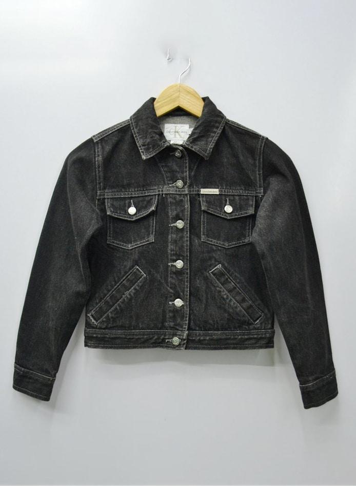 Calvin Klein Jacket Vintage Calvin Klein Denim Jacket Vintage Calvin Klein Denim Jacket Kids Size M
