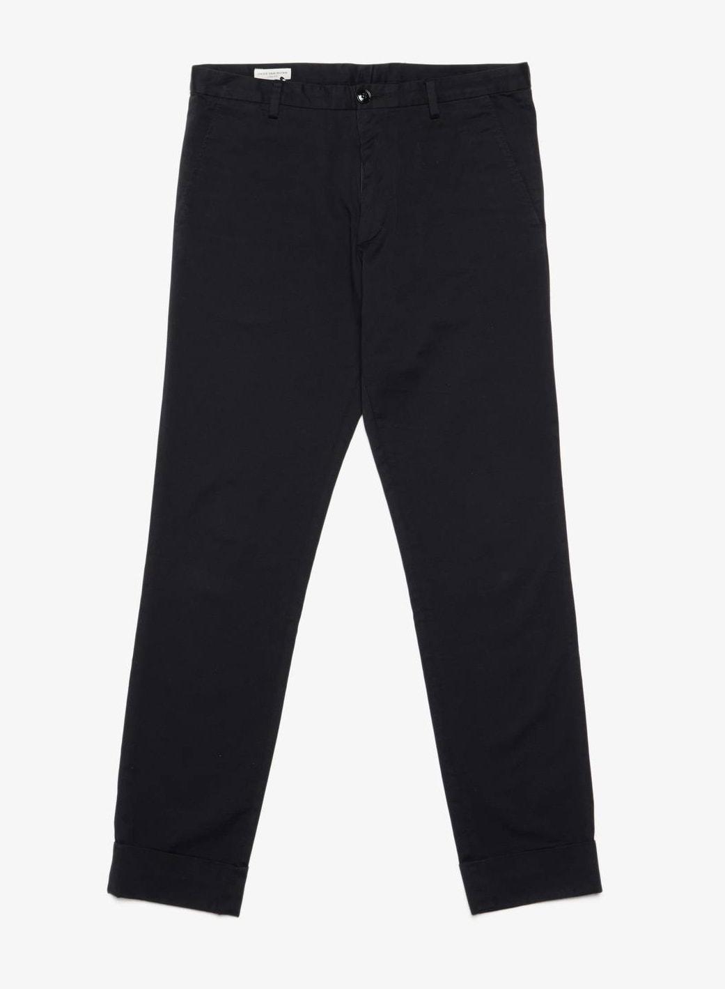 Dries Van Noten Black Cotton Pants