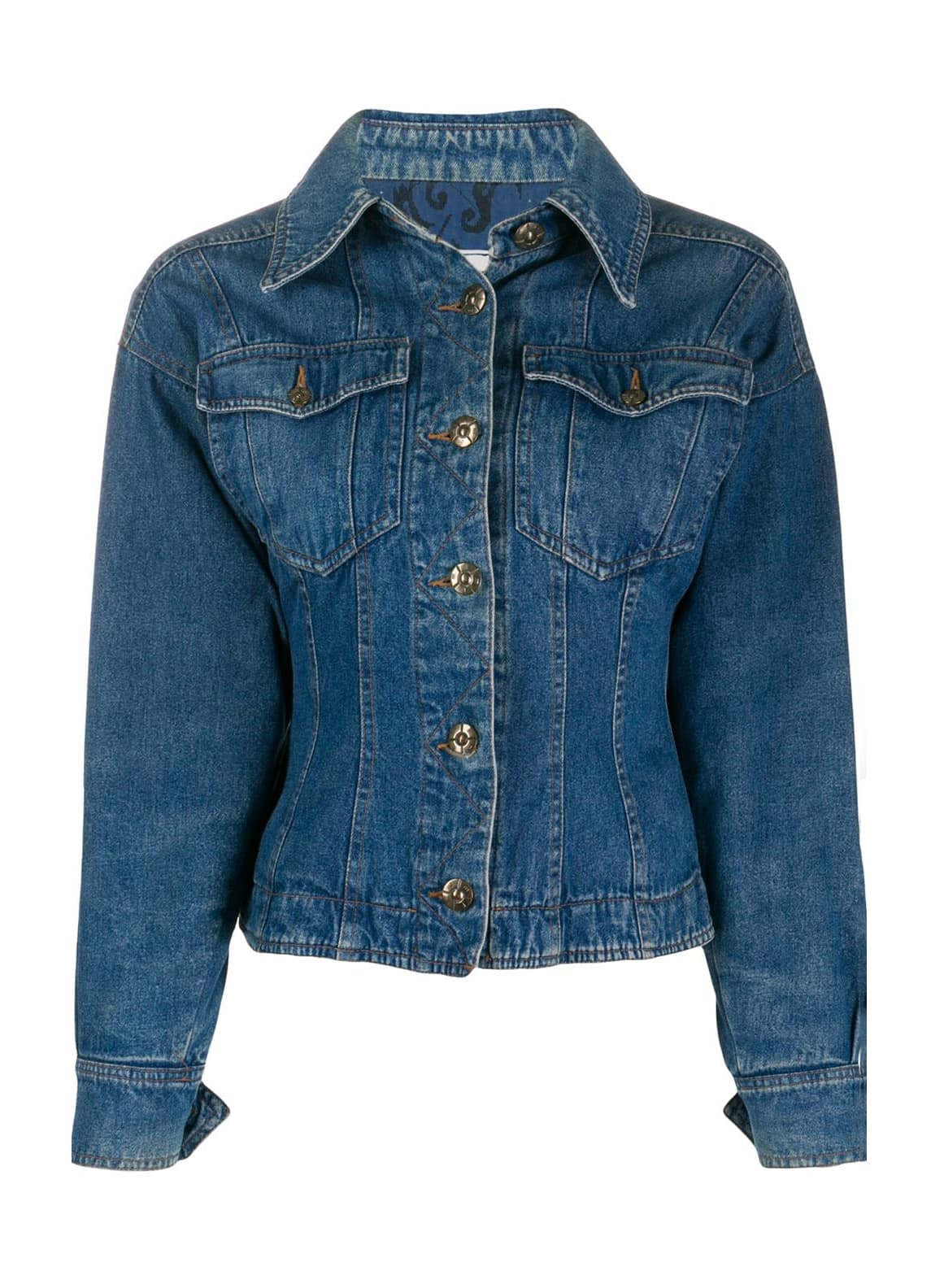 Fendi Pre-Owned 1990s denim jacket