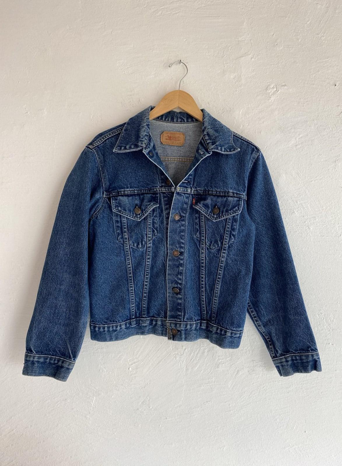 Levi's-Denim-Jacket-Vintage- Blue