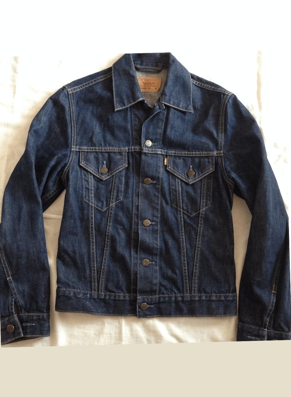 Levi's Levi Strauss Motorcycle Trucker Denim Jacket Model _ Etsy