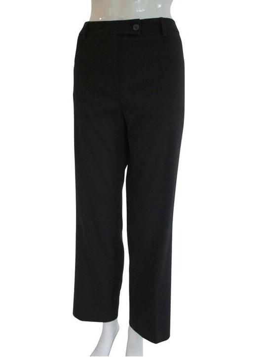 Prada Black Wool Pants with Pockets
