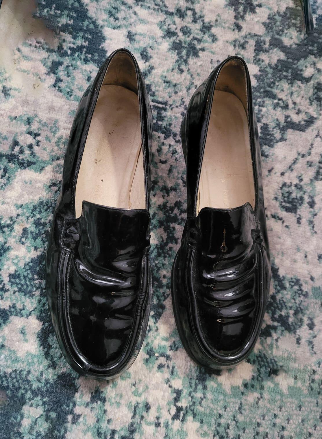 Prada patent loafers, size 36