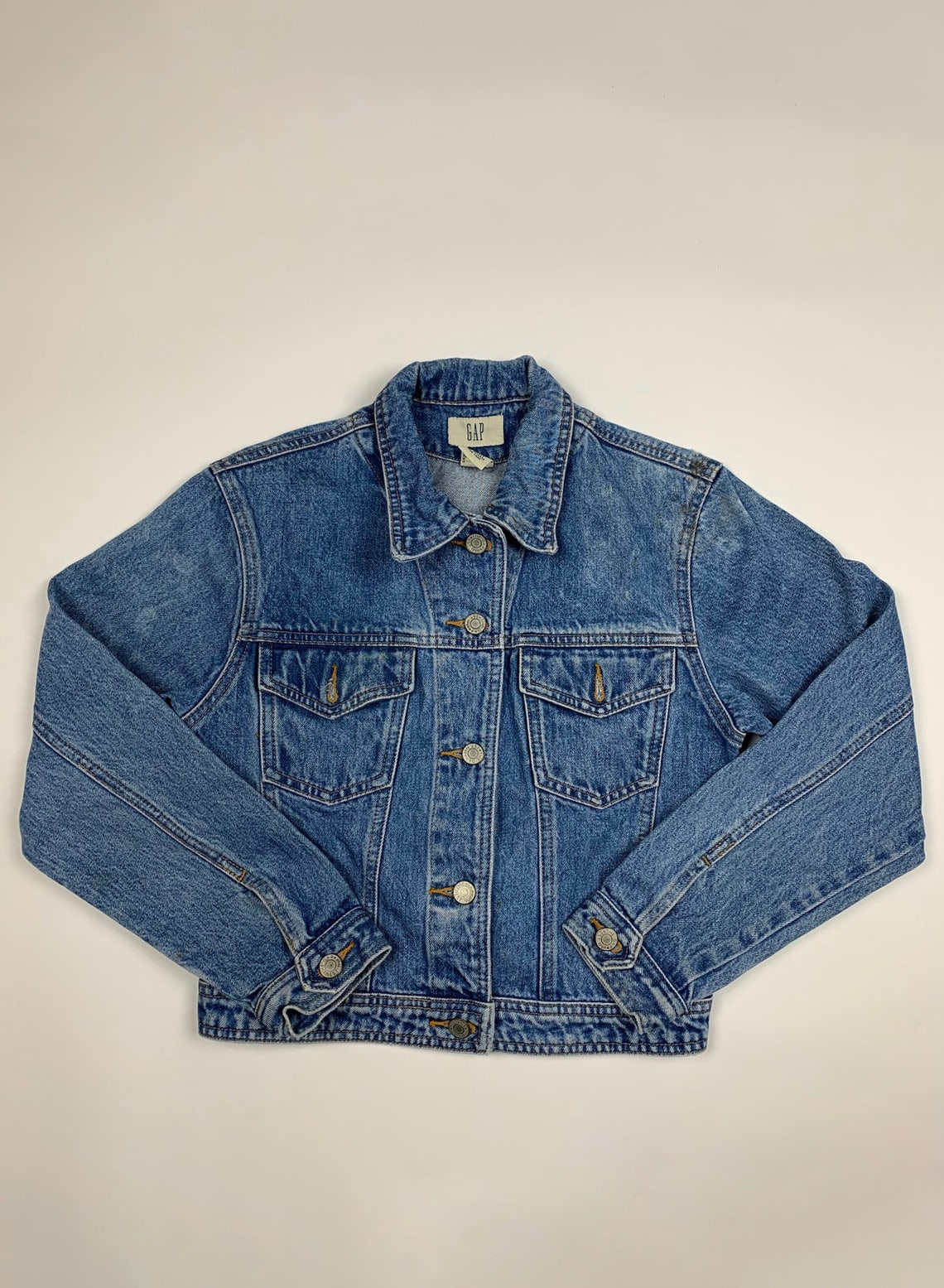 Vintage 90s Gap Retro Denim Jean Jacket